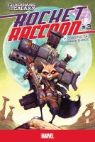 Cover image for Rocket Raccoon. A chasing tale, #3
