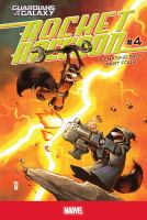 Cover image for Rocket Raccoon. A chasing tale, #4