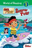 Cover image for Jake and the Never Land pirates. Surfin' turf