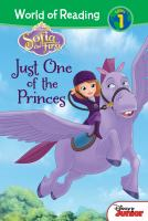 Cover image for Sofia the first. Just one of the princes