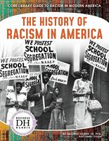 Cover image for The history of racism in America