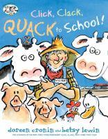Cover image for Click, clack, quack to school!