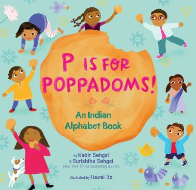 Cover image for P is for poppadoms : an Indian alphabet book