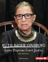 Cover image for Ruth Bader Ginsburg : iconic supreme court justice