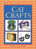 Cover image for Cat crafts