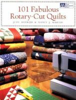 Cover image for 101 fabulous rotary-cut quilts
