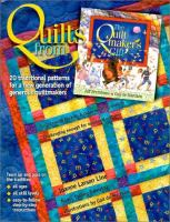 Cover image for Quilts from the quiltmaker's gift : 20 traditional patterns for a new generation of generous quiltmakers