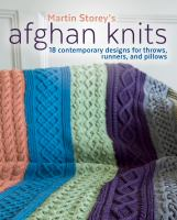 Cover image for Afghan knits : 18 contemporary designs for throws, runners, and pillows