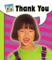 Cover image for Thank you