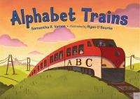 Cover image for Alphabet trains