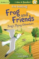 Cover image for Frog's flying adventure