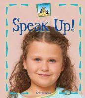 Cover image for Speak up!