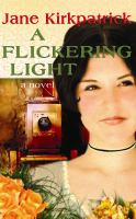 Cover image for A flickering light