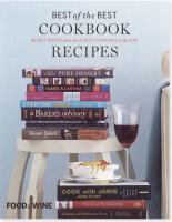 Cover image for Best of the best cookbook recipes Vol. 13 : the best recipes from the 25 best cookbooks of the year