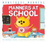 Cover image for Manners at school