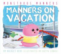 Cover image for Manners on vacation