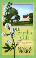 Cover image for Sarah's gift