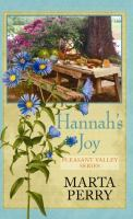Cover image for Hannah's joy