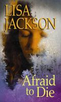 Cover image for Afraid to die