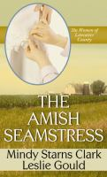 Cover image for The Amish seamstress
