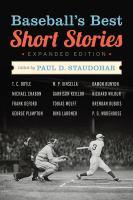 Cover image for Baseball's best short stories