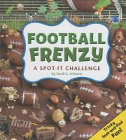 Cover image for Football frenzy : a spot-it challenge