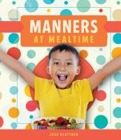 Cover image for Manners at mealtime
