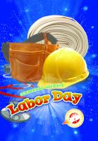 Cover image for Labor Day : by Rachel Grack.