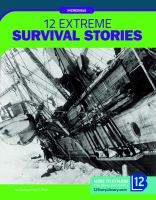 Cover image for 12 extreme survival stories
