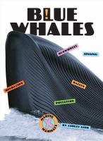 Cover image for Blue whales