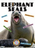 Cover image for Elephant seals