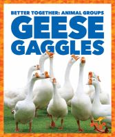 Cover image for Geese gaggles