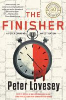 Cover image for The finisher : a Peter Diamond investigation