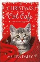 Cover image for Christmas at the Cat Café