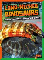 Cover image for Long-necked dinosaurs : ranking their speed, strength, and smarts