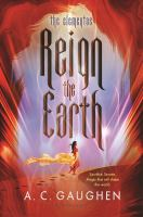 Cover image for Reign the earth