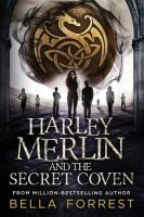 Cover image for Harley Merlin and the secret coven