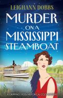 Cover image for Murder on a Mississippi steamboat