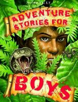 Cover image for Adventure stories for boys