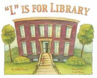 """Cover image for """"L"""" is for library"""