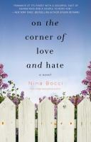 Cover image for On the corner of love and hate