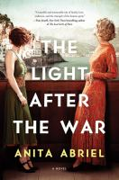 Cover image for The light after the war