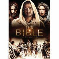 Cover image for The Bible the epic miniseries