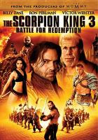 Cover image for Scorpion king 3 battle for redemption