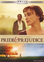 Cover image for Pride & prejudice