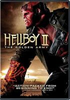 Cover image for Hellboy II the golden army