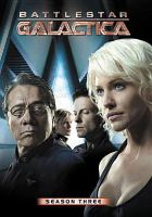 Cover image for Battlestar Galactica. Season three