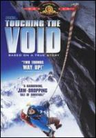 Cover image for Touching the void