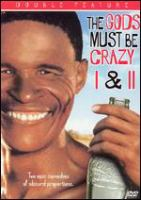 Cover image for The Gods must be crazy I and II