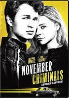 Cover image for November criminals